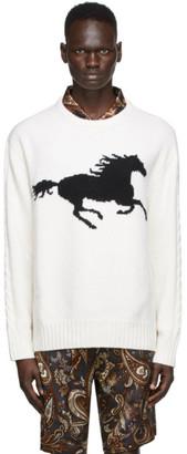 Nahmias SSENSE Exclusive Beige Stallion Sweater