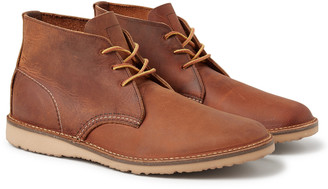 Red Wing Shoes Weekender Burnished Leather Chukka Boots