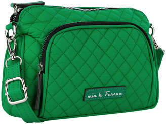 Mkf Collection By Mia K. Farrow MKF Collection by Mia K. Farrow Women's Handbags Emerald - Emerald Green Quilted Cosmetic Bag