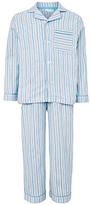 John Lewis Children's Traditional Stripe Pyjamas, Blue
