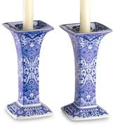 Spode Judaica Sabbath 7-1/2-Inch H Candlestick (Set of 2)
