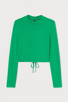 H&M Open-backed Top - Green