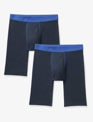 Tommy John Tommyjohn Cotton Basics Contrast Stitch Boxer Brief 2 Pack