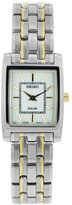 Seiko Women's SUP079 Two Tone Stainless Steel Analog with Dial Watch