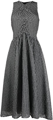 Proenza Schouler White Label Broderie Anglaise Midi Dress