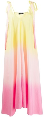 Alanui Ombre-Effect Midi Dress
