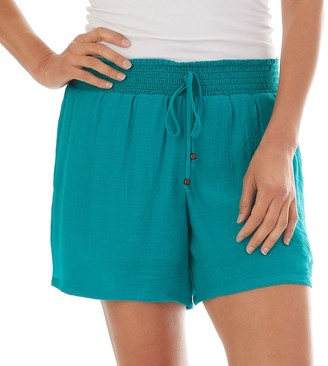 Apt. 9 Women's Pull-On Faux Front Tie Shorts