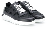 Hogan sequin lace-up sneakers