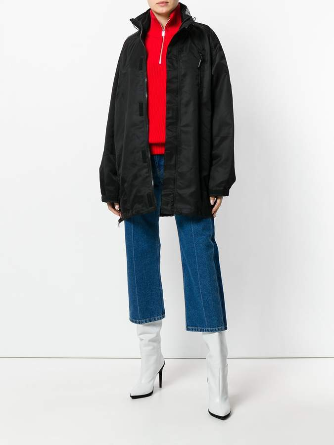 Givenchy Zipped oversized jacket