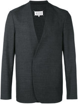 Maison Margiela magnetic fastening blazer - men - Cotton/Viscose/Wool - 48