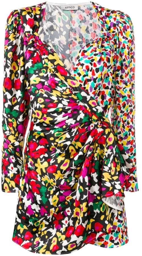 773fdb00 Attico Wrap Dress - ShopStyle