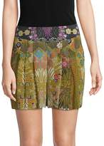 Robert Graham Women's Erika Printed Silk Shorts