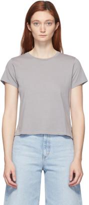 AGOLDE Grey Linda Boxy T-Shirt