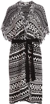 Alice + Olivia Maibella Belted Sweater Vest