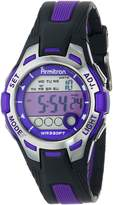 Armitron Women's 45/7030PUR Sport Accented Digital Chronograph Watch