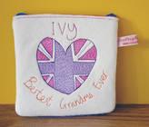 designer handbags used wo8n  Seabright Designs Personalised 'Bestest Grandma' Purse