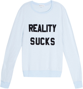 Wildfox Couture Reality Sucks Sweater