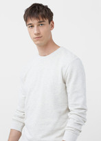 MANGO MAN Cotton Sweatshirt