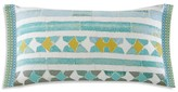"Echo Lagos Oblong Decorative Pillow, 10"" x 20"""