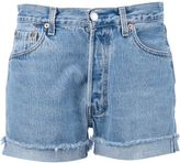 Levis A.N.G.E.L.O. Recycled Vintage stone washed denim shorts