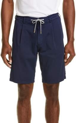 Eleventy Stretch Cotton Jogger Shorts