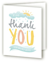 Minted Wellies Baby Shower Thank You Cards