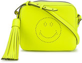 Anya Hindmarch smiley face cross-body bag - women - Leather - One Size