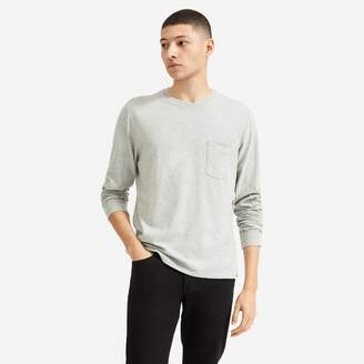 Everlane The Cotton Long-Sleeve Pocket Tee | Uniform