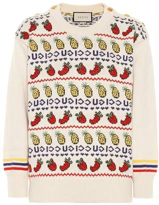 Gucci Wool and cotton sweater