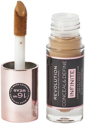 Makeup Revolution Conceal & Define Infinite Longwear Concealer C12