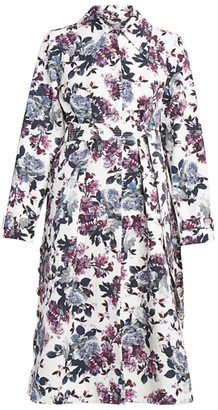 Erdem Lawrence Rose Blossom Jacket