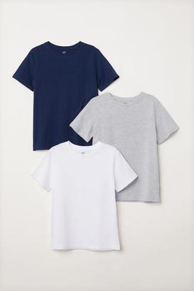H&M 3-pack T-shirts - White