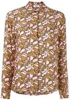 MSGM floral print blouse - women - Silk - 42