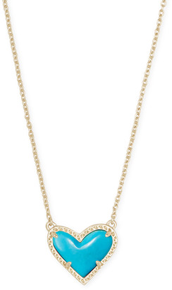Kendra Scott Ari Heart Short Pendant Necklace