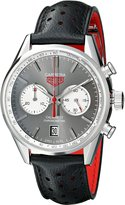 Tag Heuer Men's THCV5110FC6310 Carrera Analog Display Swiss Automatic Black Watch