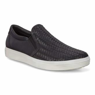 Ecco Women's Soft 7 Woven Slip On 2.0 Sneaker