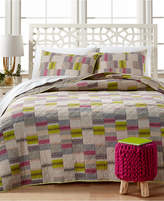 Peking Closeout! Bright Lights King Quilt Bedding