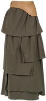 Adriana Degreas ruffled maxi skirt