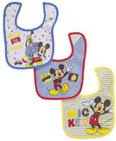 "Disney Mickey Mouse ""Hide-and-Seek"" 3-Pack Bibs"