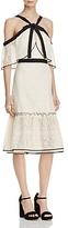 Adelyn Rae Marissa Bow Cold-Shoulder Dress