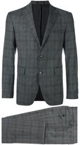 Tagliatore plaid dinner suit - men - Cupro/Virgin Wool - 52