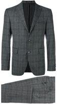 Tagliatore plaid dinner suit - men - Virgin Wool/Cupro - 52