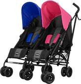 O Baby Obaby Apollo Black & Grey Twin Stroller (Red)