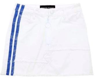 Whyte Studio Dolomite Denim Skirt White