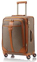 "Hartmann Herringbone Luxe Long Journey Softside 22"" Carry-On Expandable Spinner"
