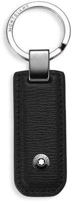 Montblanc Textured Leather Key Fob