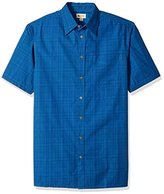 Haggar Men's Big-Tall Short-Sleeve Weekender Woven Shirt,,
