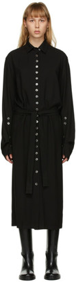 Ann Demeulemeester SSENSE Exclusive Black God of Wild Shirt Dress
