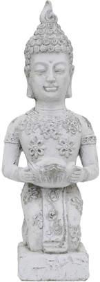 Three Hands Corp Kneeling Buddha Tealight Candle Holder