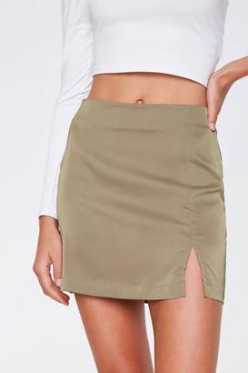 Forever 21 Vented Mini Skirt